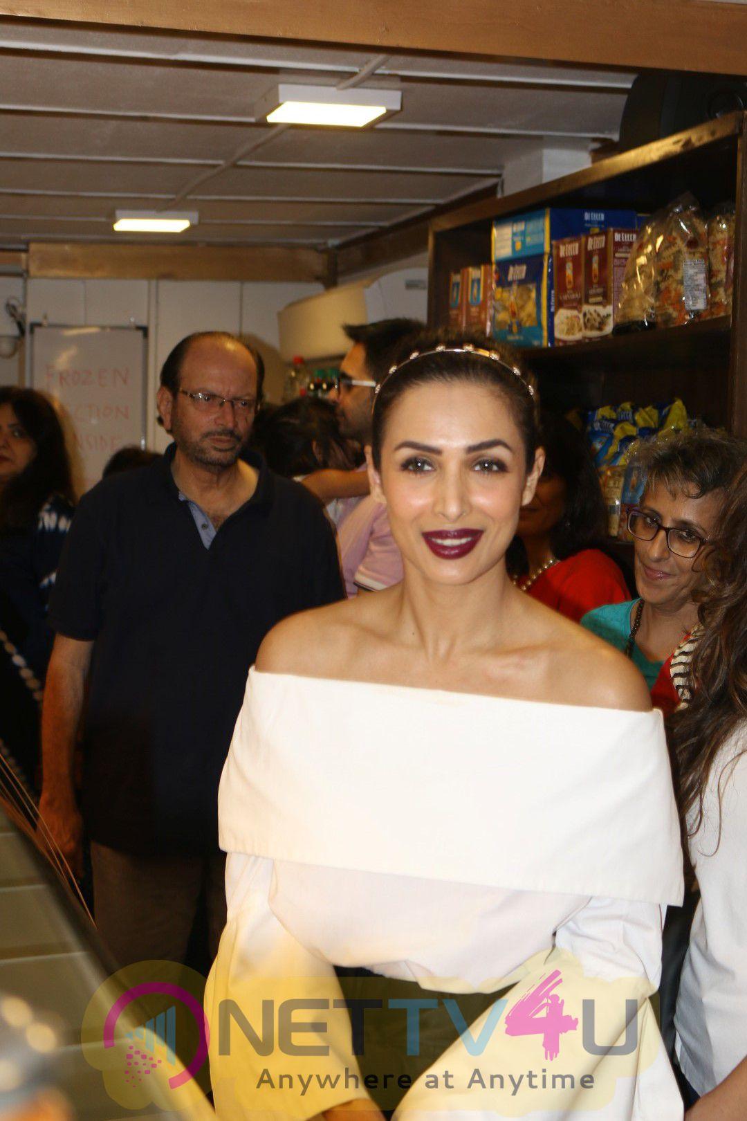 Malaika Arora Khan At Opening Of The Patisserie A Saluti Classy Stills Hindi Gallery