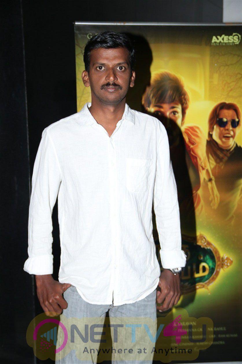 Maragatha Naanayam Tamil Movie Press Meet Excellent Stills