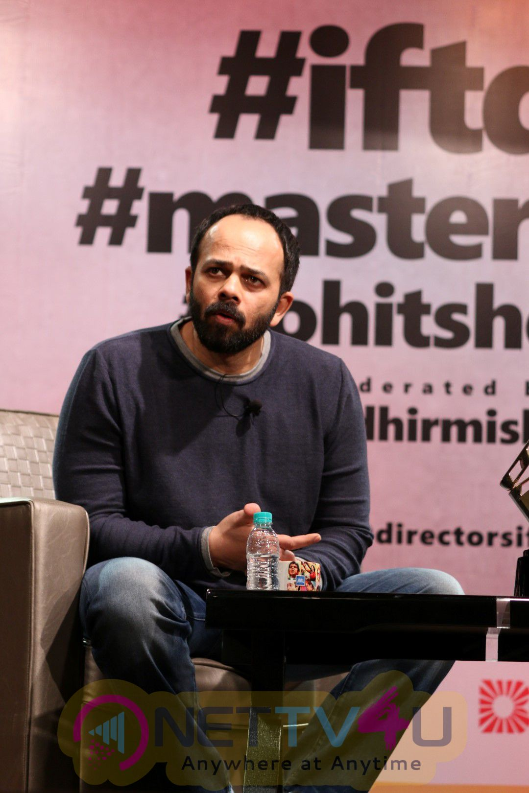Master Class Session By Rohit Shetty & Sudhir Mishra Stunning Photos
