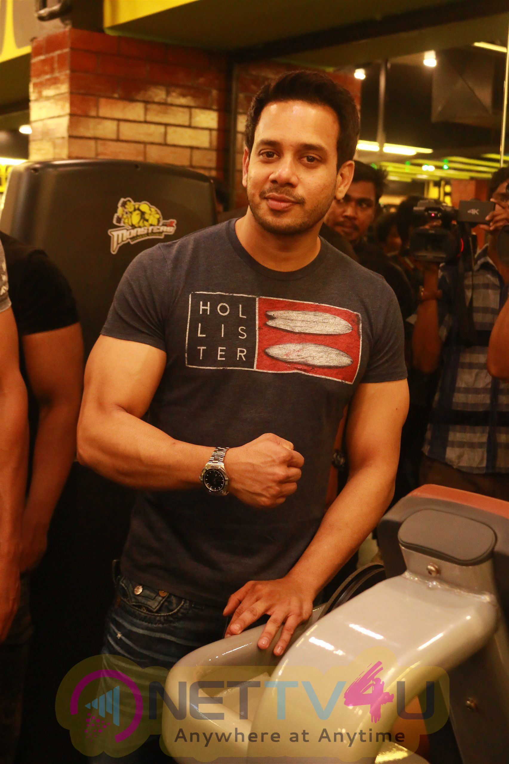 Monsters Alpha Fitness Studio Launched In Anna Nagar Stunning Stills
