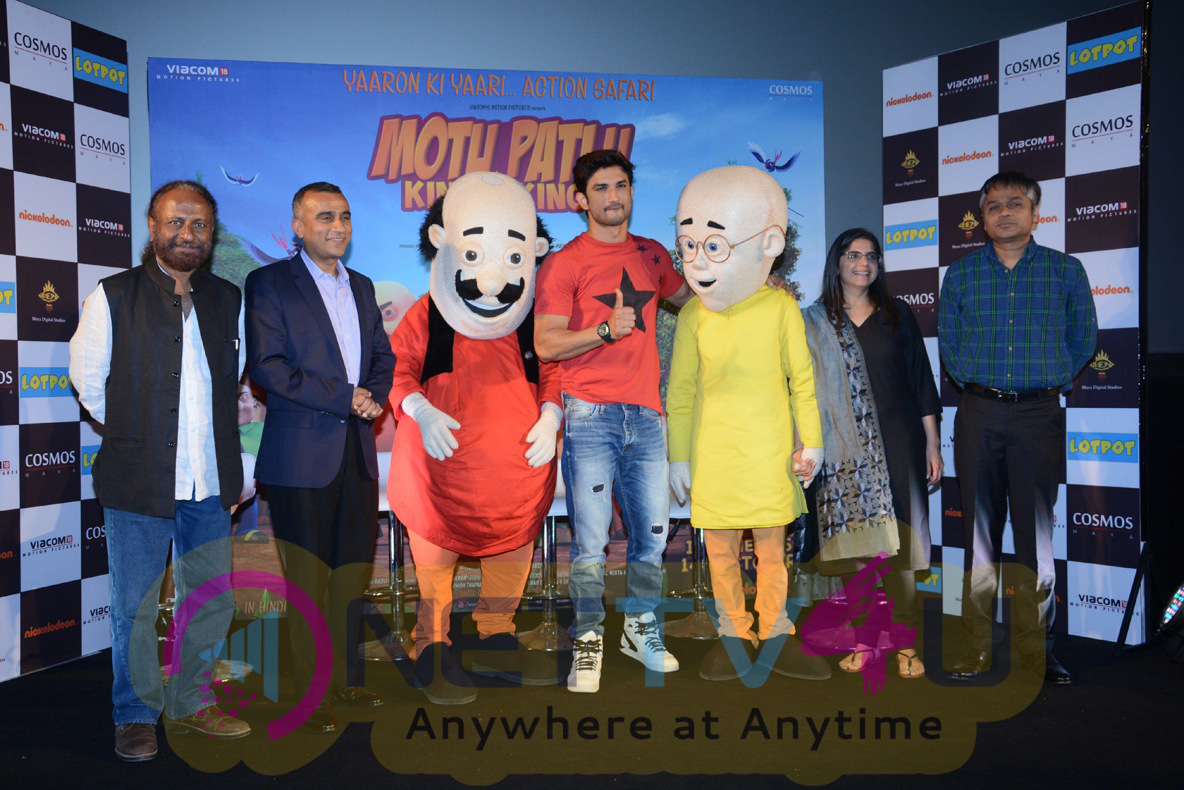 Motu Patlu King Of Kings Movie Trailer Launch Photos Tamil Gallery