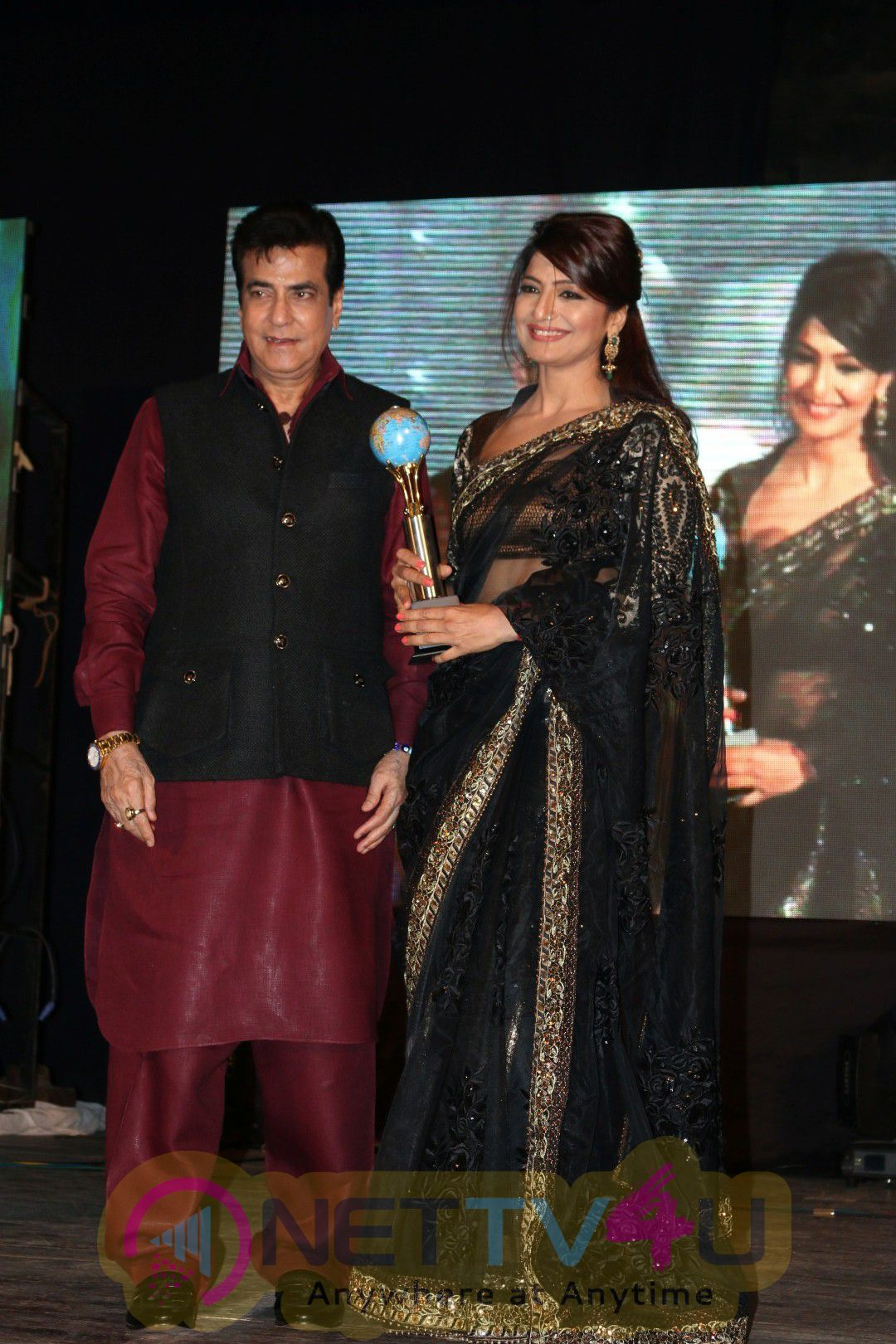Mumbai Global Achiever's Awards 2016 Actor Jeetendra, Rakhi Sawant & Anup Jalota, Sunil Pal