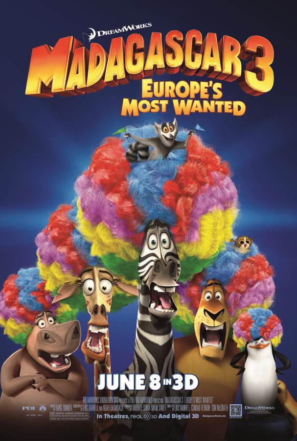 Madagascar 3: Europe'S Most Wanted Movie Review English