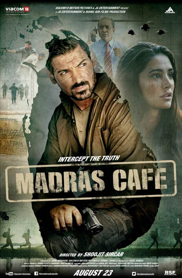 Madras Cafe-No winners to hold the cup! Movie Review Hindi