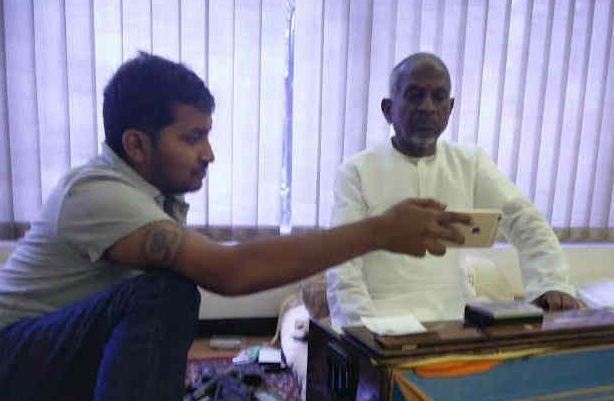 Maestro Ilayaraja Starts Composing His Songs Fo..