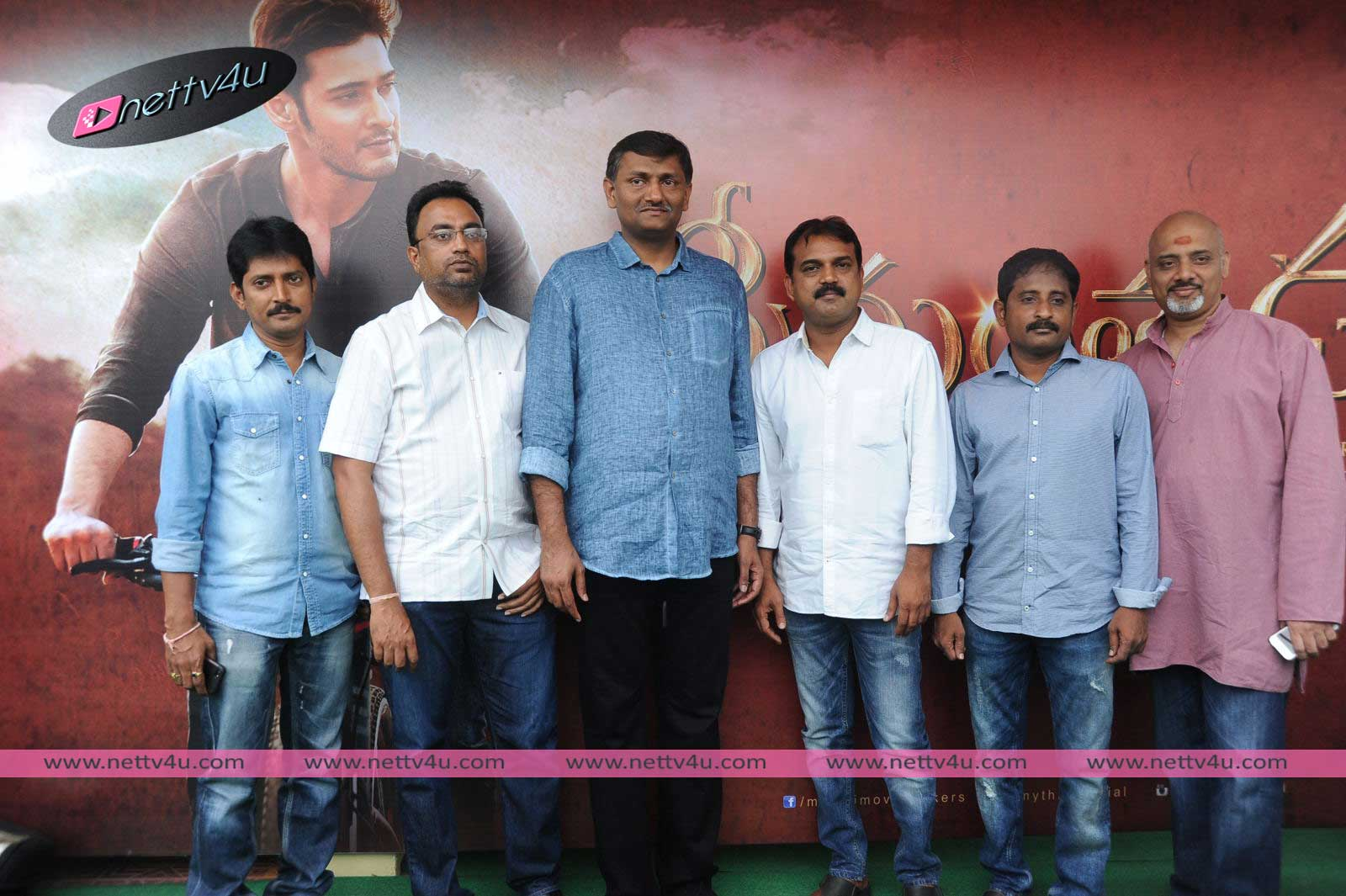 Mahesh Babu Srimanthudu Movie Press Meet Photos
