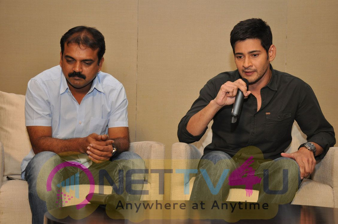 Mahesh Babu Upcoming Movie Srimanthudu Press Meet Photos