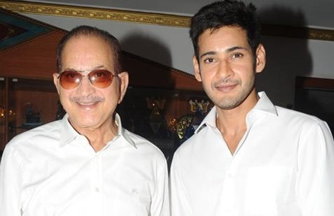 Mahesh Is Ready For A Voice Over In His Dad Mov..