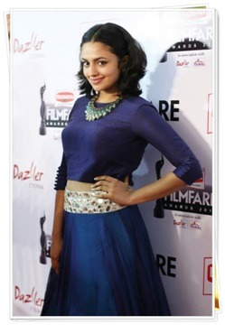 Malavika Nair Got Upset During The 62nd Filmfare Awards
