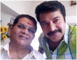 Mammootty Visits Jagathy Sreekumar And Brings Him On Set Of His Next Film