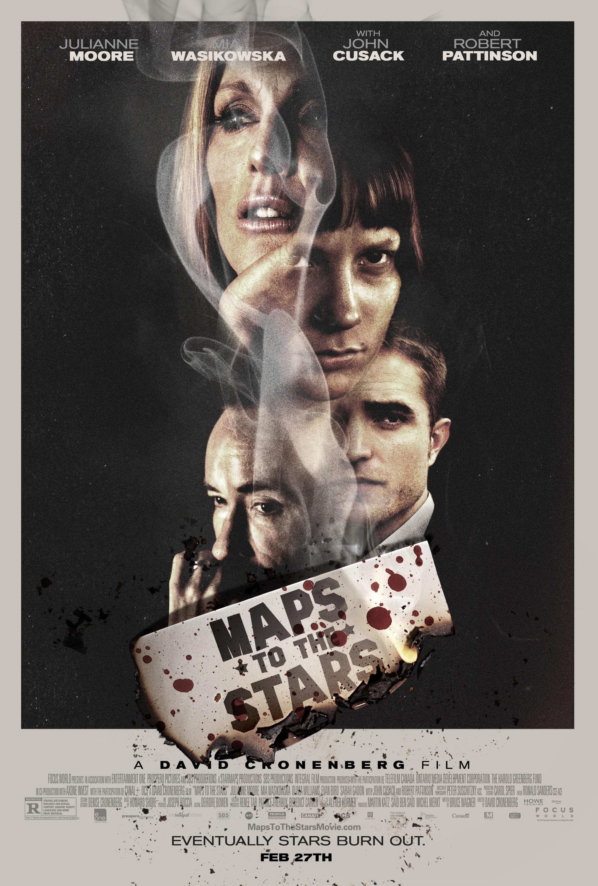 Maps to the Stars Movie Review English