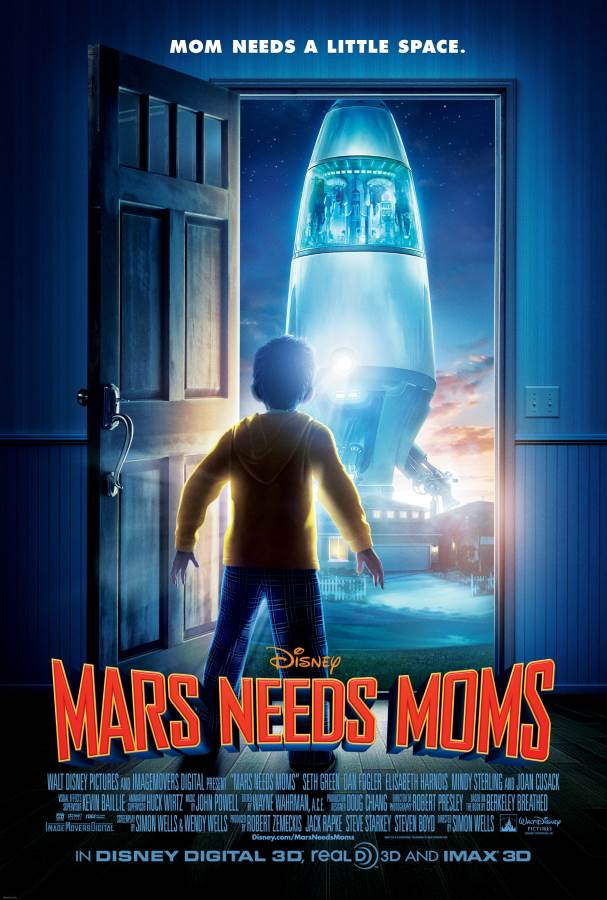 Mars Needs Moms Movie Review English