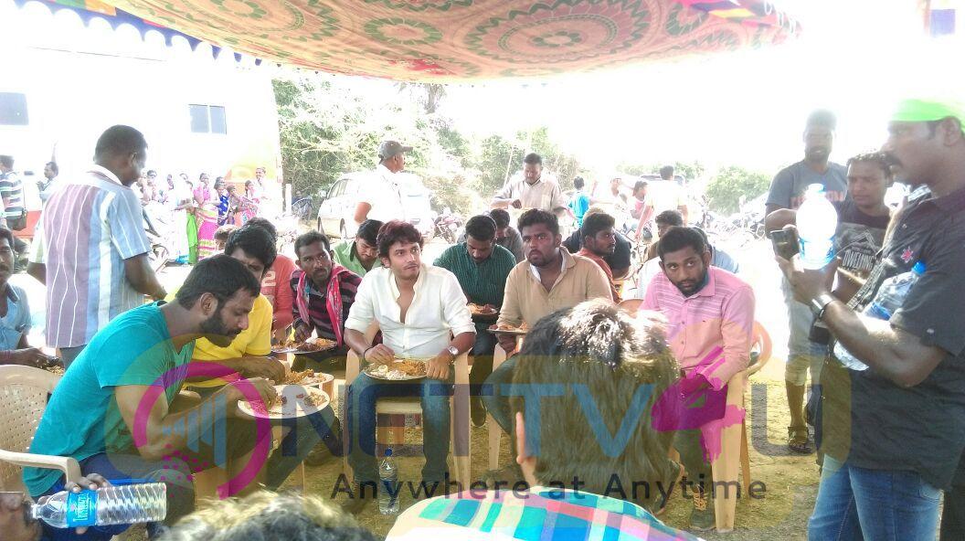 Marudhu Tamil Movie Final Day Shoot Stills