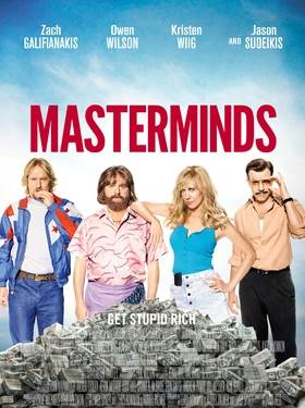 Masterminds Movie Review English