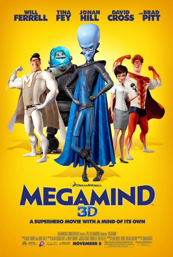 Megamind Movie Review English