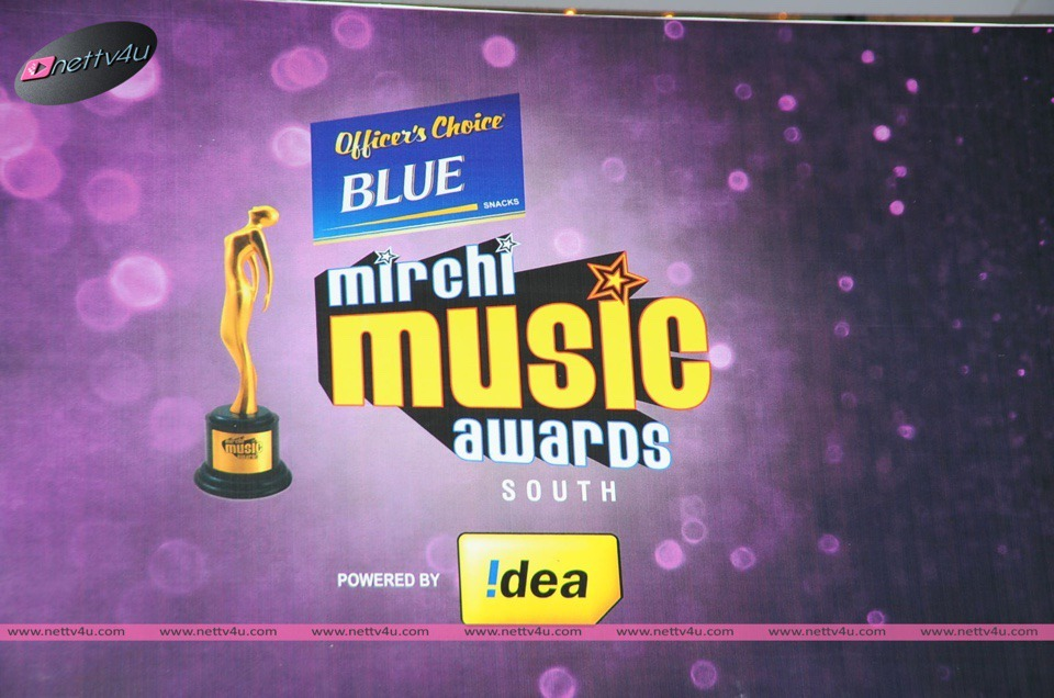 Singer Janaki At Mirchi Music Awards 2014