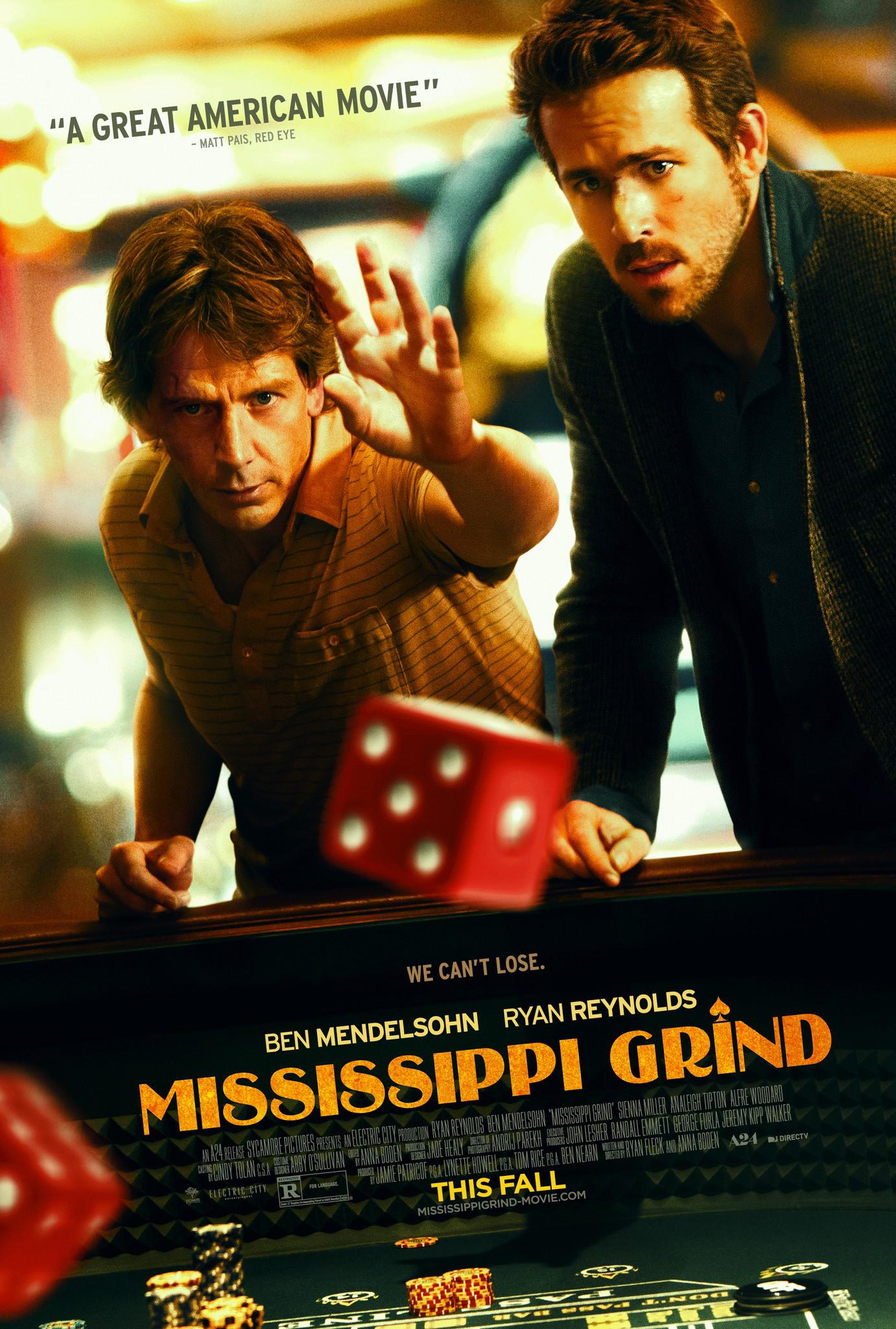 Mississippi Grind Movie Review English