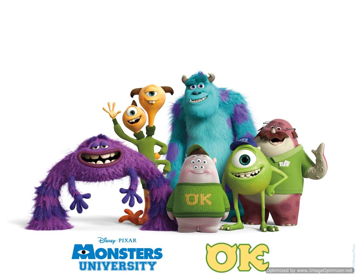 Monsters University Movie Review English