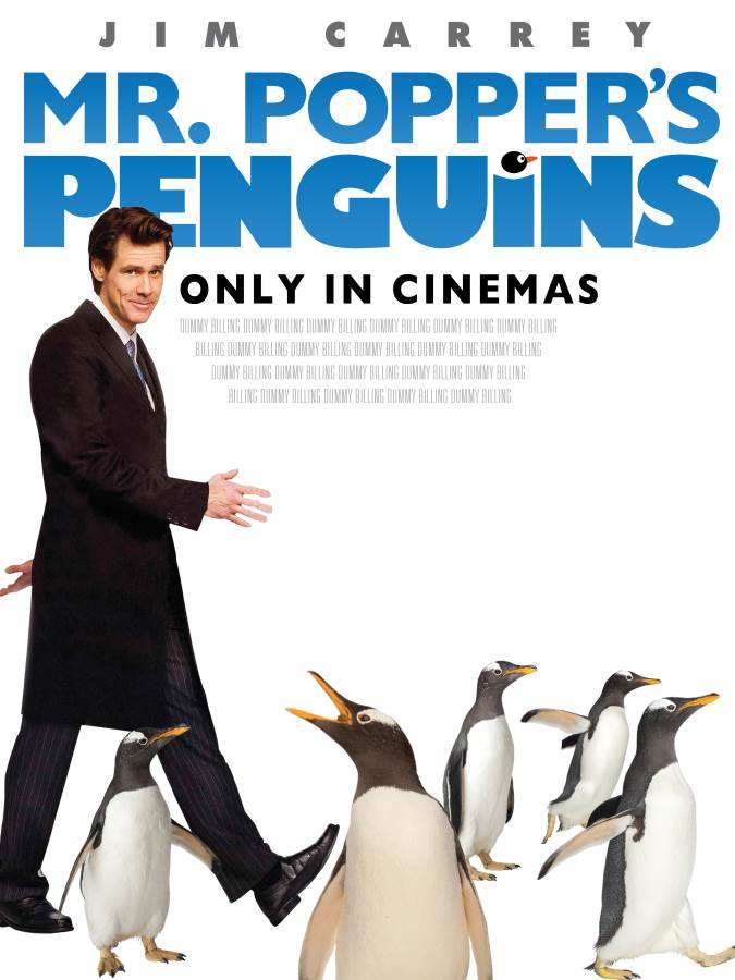 Mr. Popper'S Penguins Movie Review English