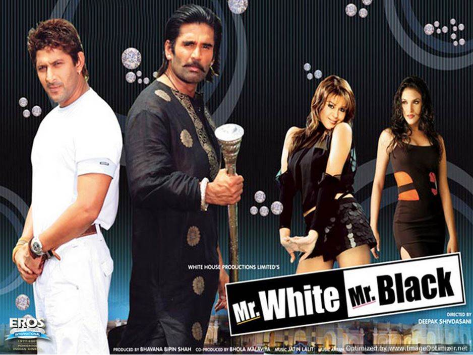 Mr. White Mr. Black Movie Review Hindi