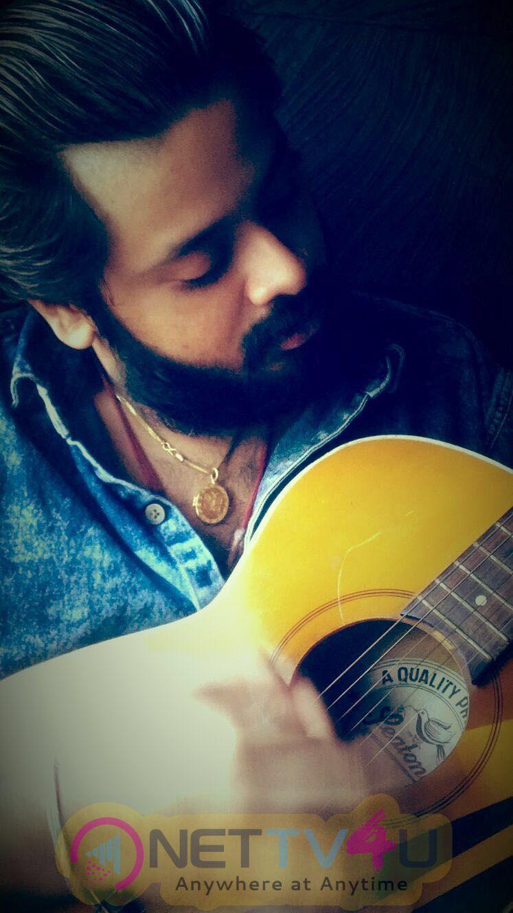 Music Director Amrish Working Stills