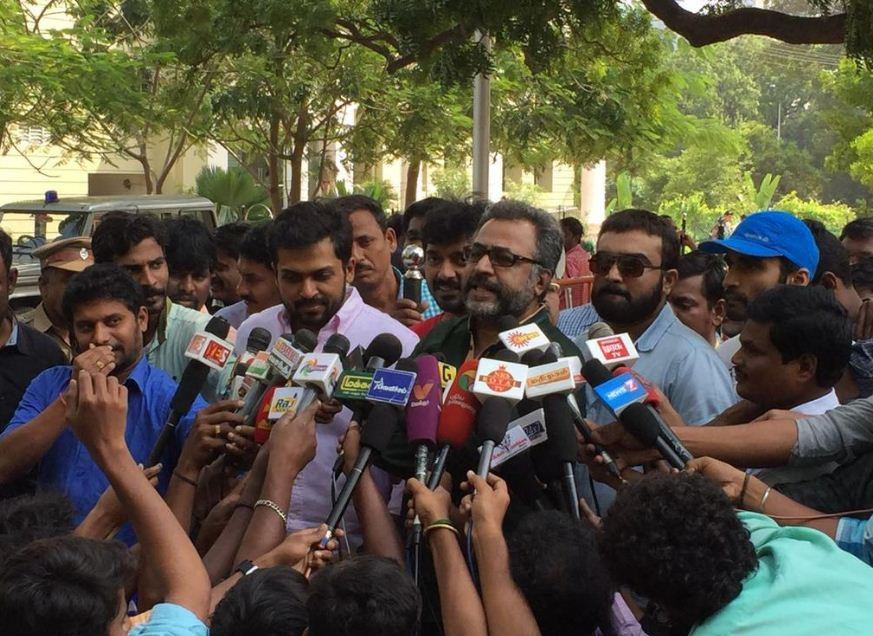 Nadigar Sangam Board Members Request For Additional Security!
