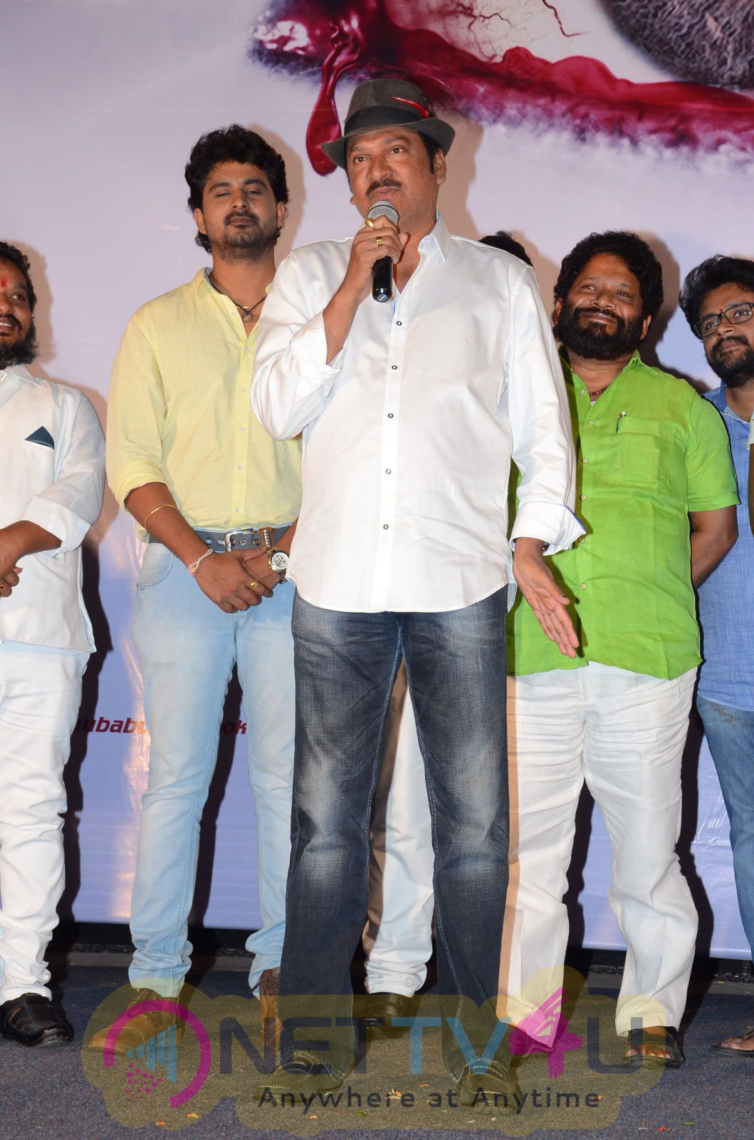 Nethra Telugu Movie Audio Launch Stills