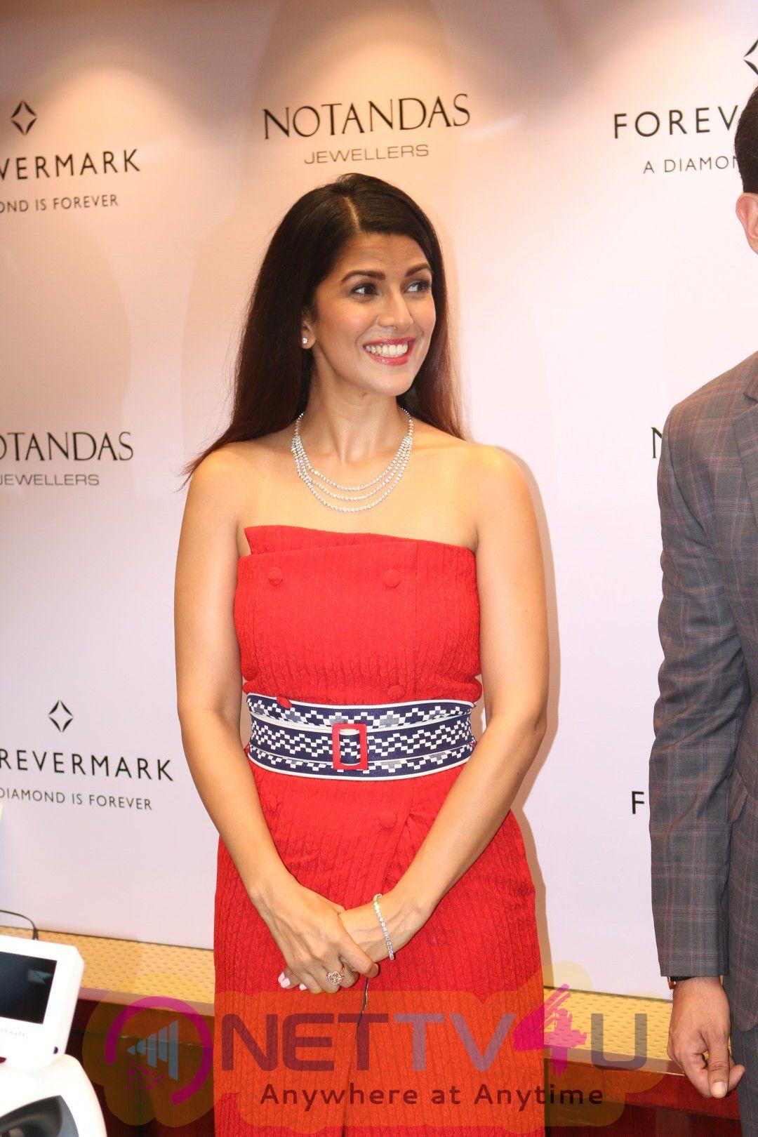 Nimrat Kaur Launches Forevermark Diamonds And Notandas Festive Collection Stills