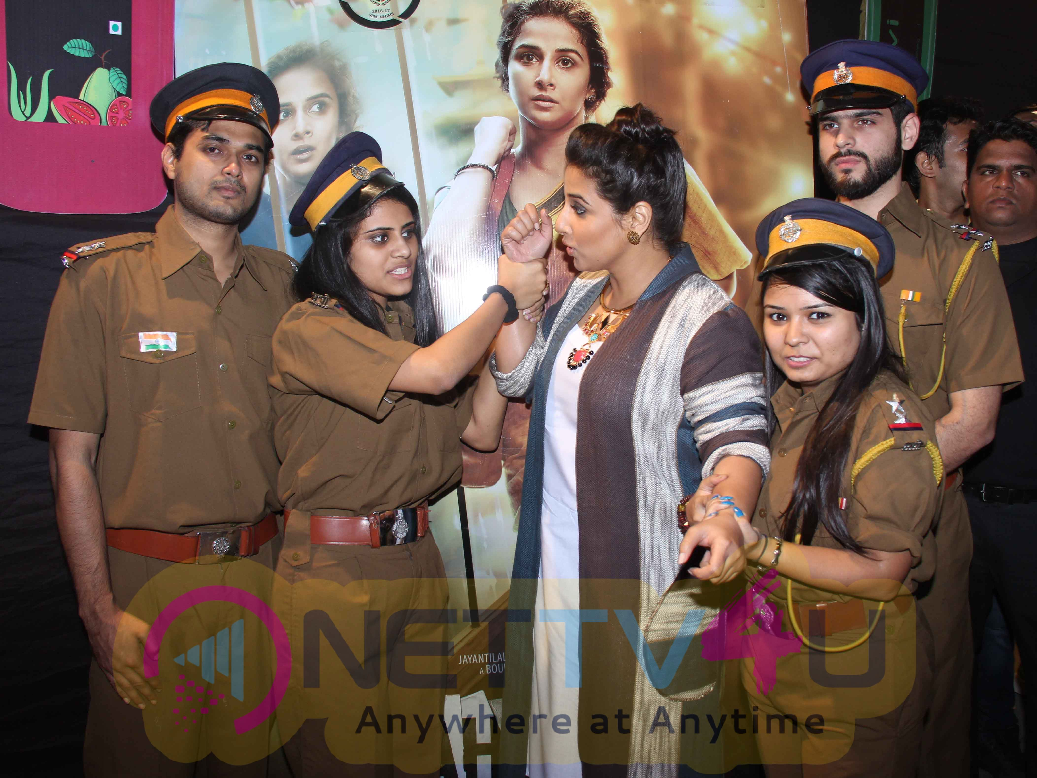 NMIMS College Festival Attend Vidya Balan Photos