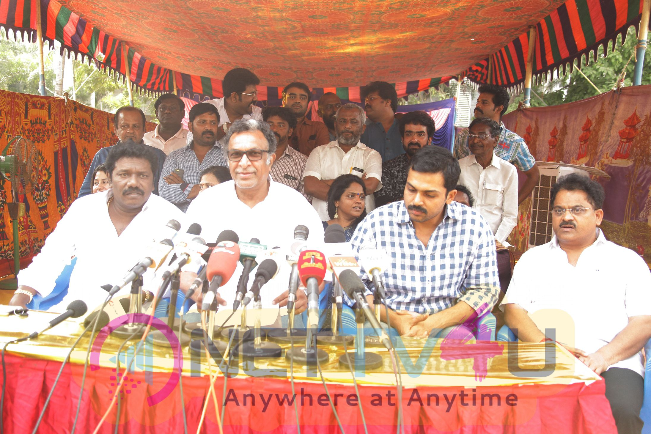 Nadigar Sangam E C Meeting Press Stills