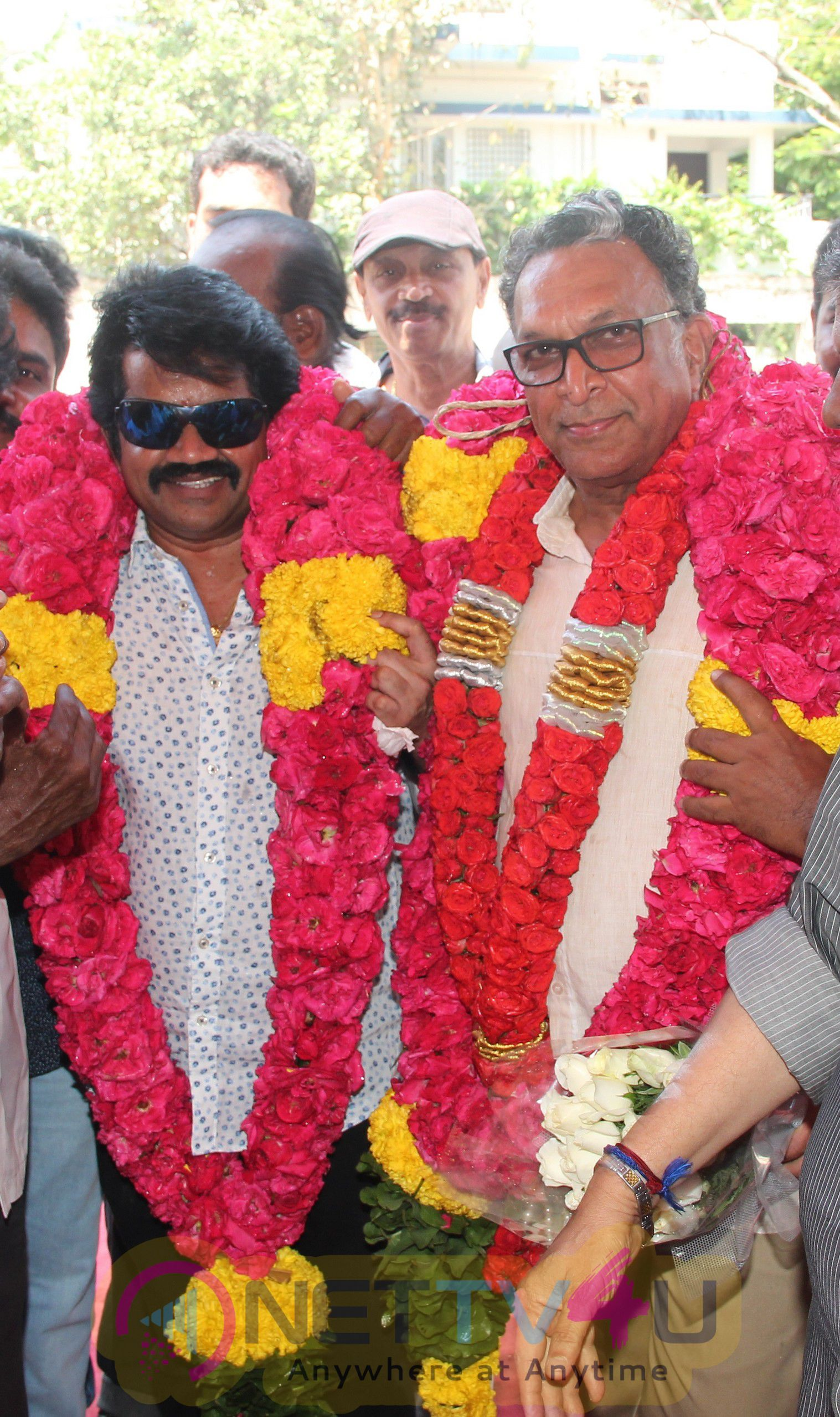 Nadigar Sangam Leaders Nassar & J.K.Rithish Birthday Celebration Stills