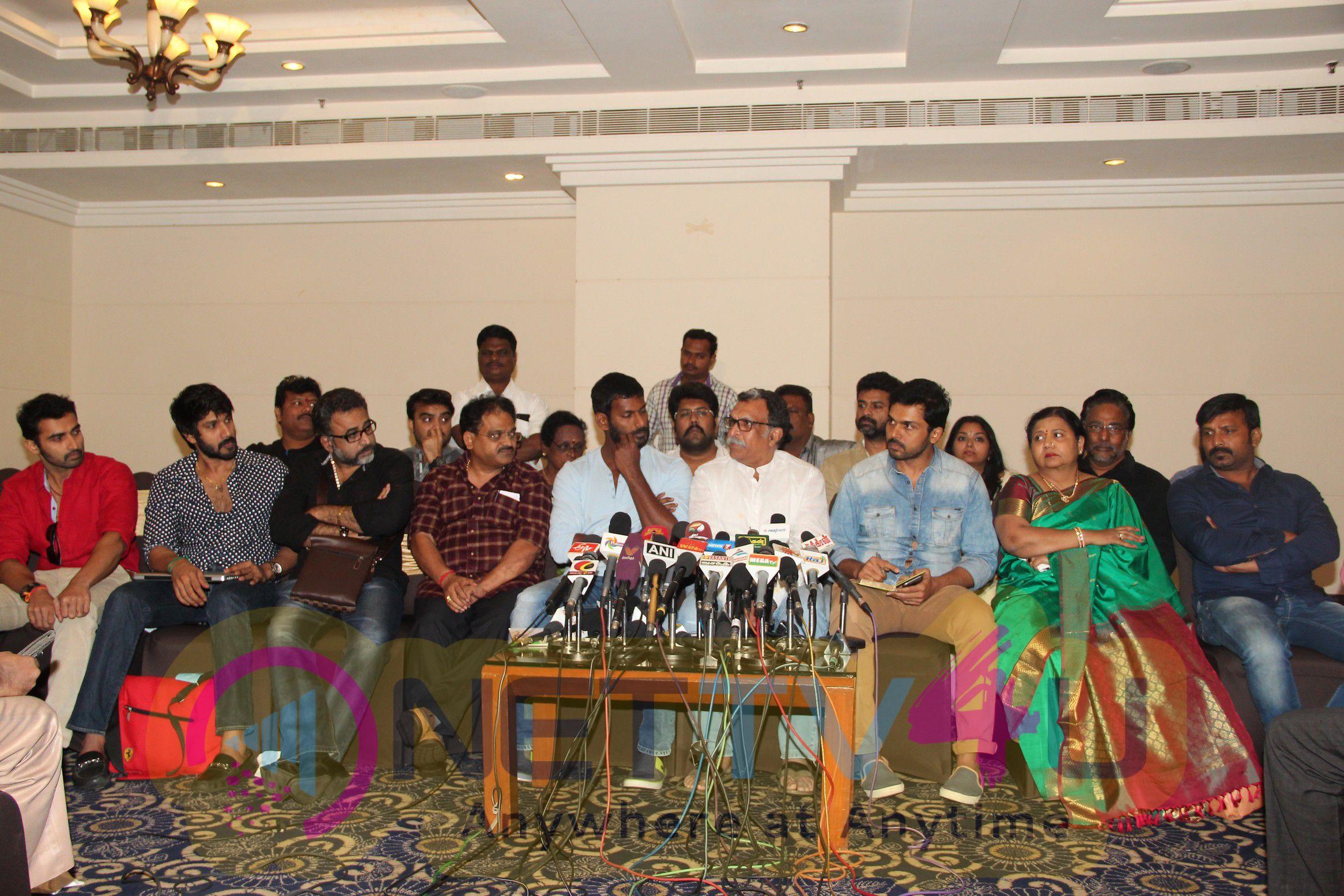 nadigar sangam press meet latest images 13