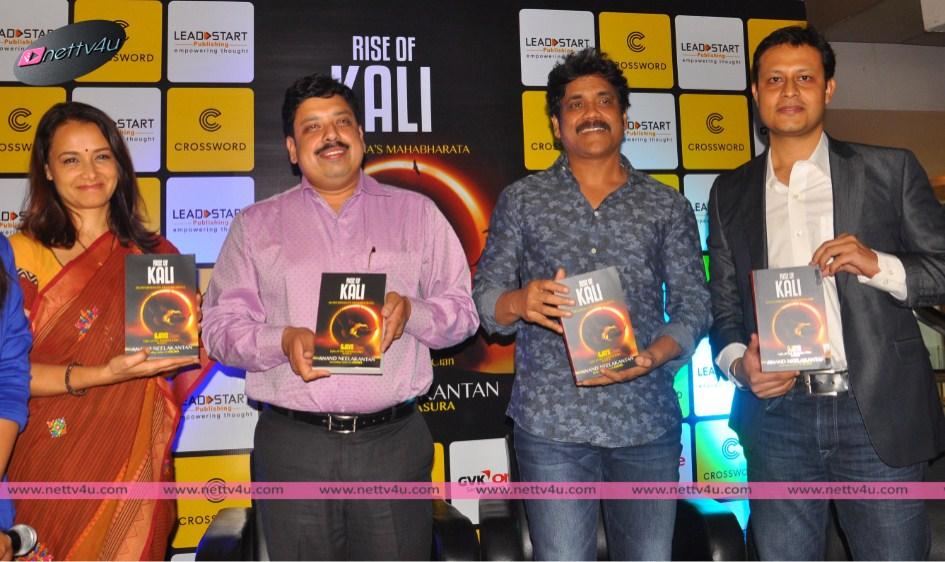 Nagarjuna And Amala Unveils an epic book by Anand, Ajaya 2 Rise Of Kali .