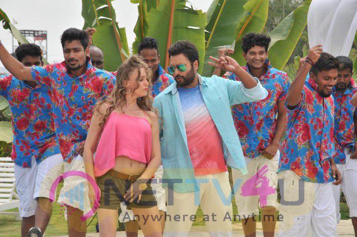 Nara Rohit Savitri Telugu Movie Working Stills
