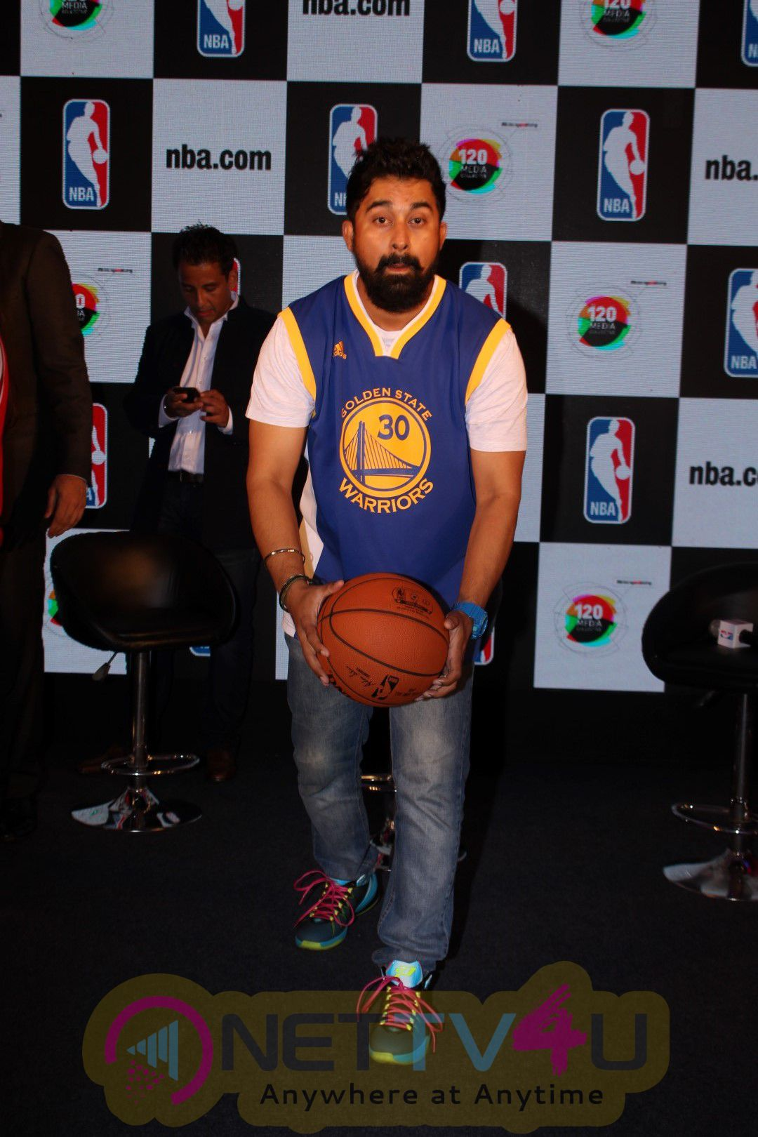 Neha Dhupia & Rannvijay Singh At Launch NBA Digital Destination Photos Hindi Gallery
