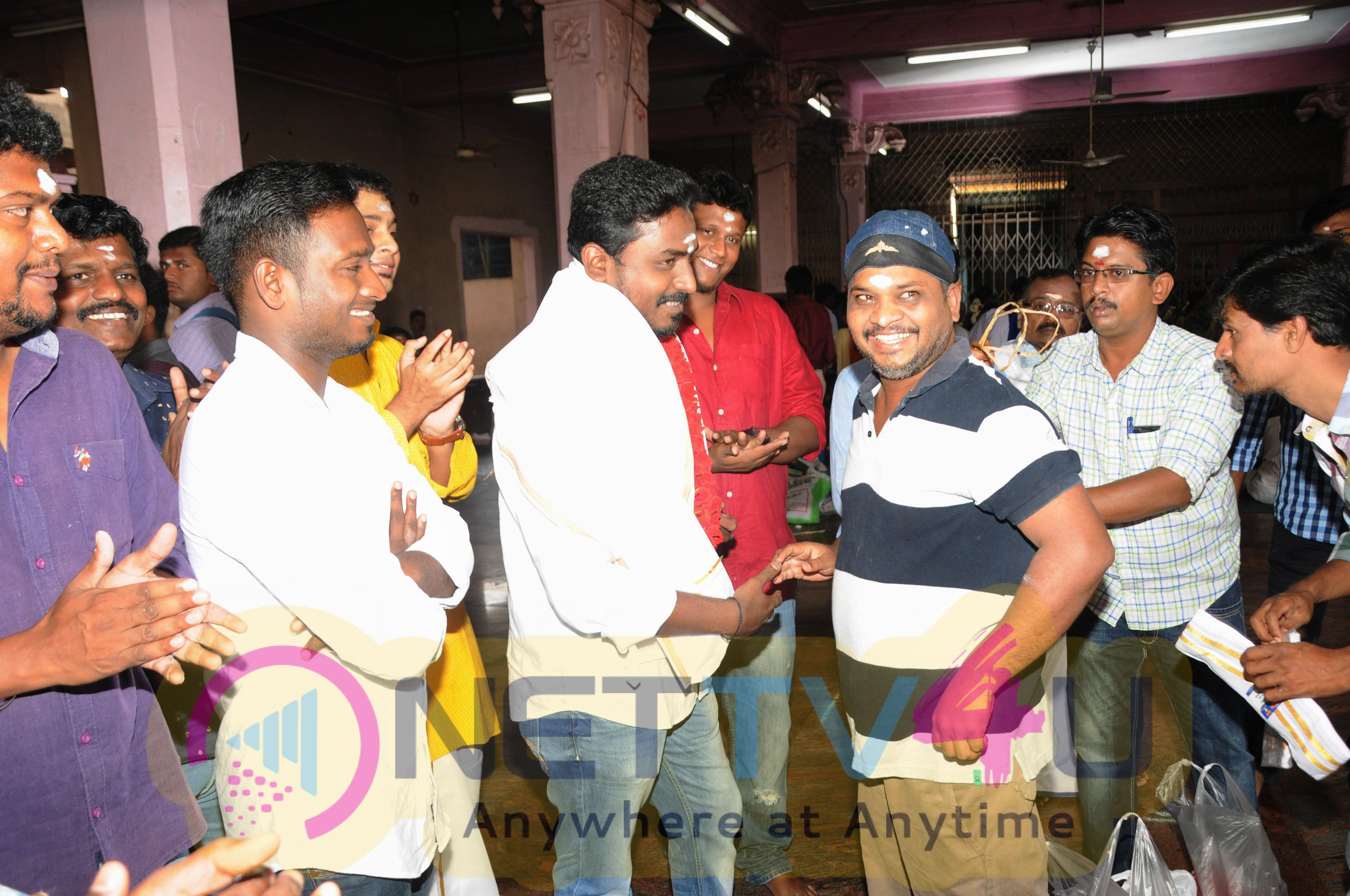 Nemichand Jhabak & Sarkunam Cinemas Untitled Movie Pooja Stills