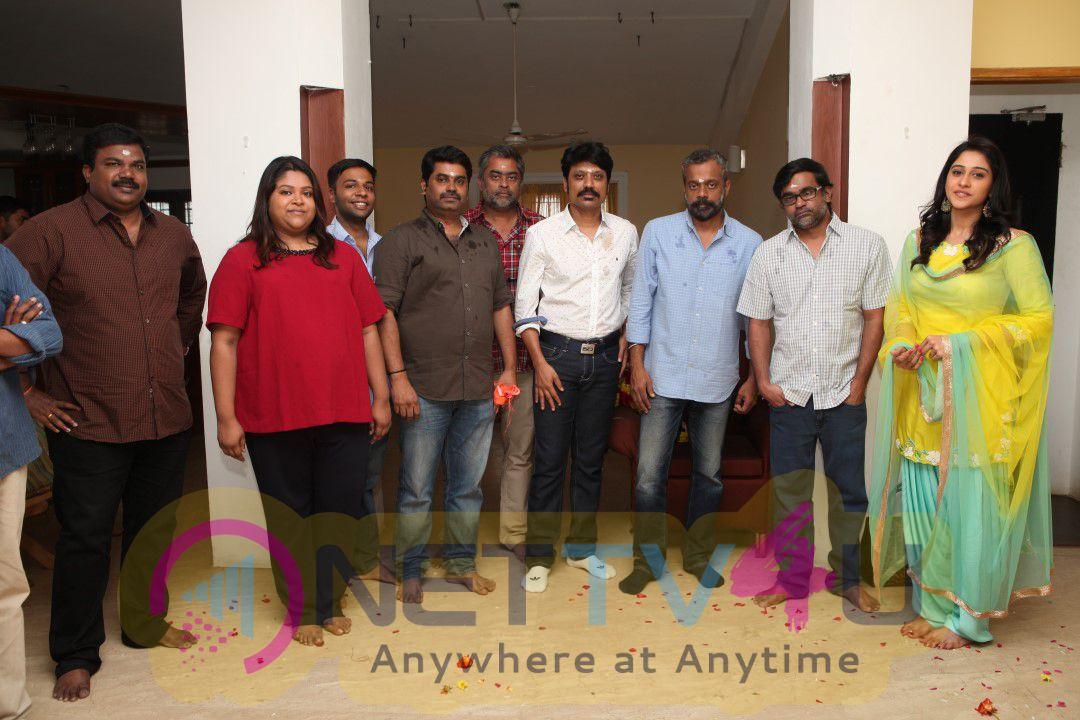 Nenjam Marappathillai Movie Pooja Photos