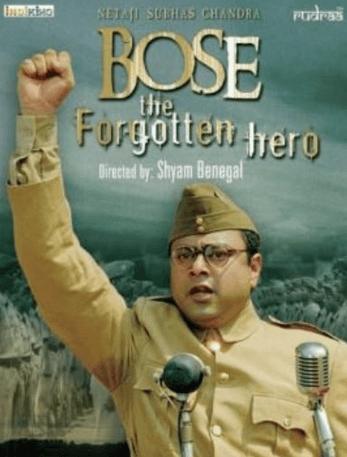Netaji Subhash Chandra Bose The Forgotten Hero Movie Review