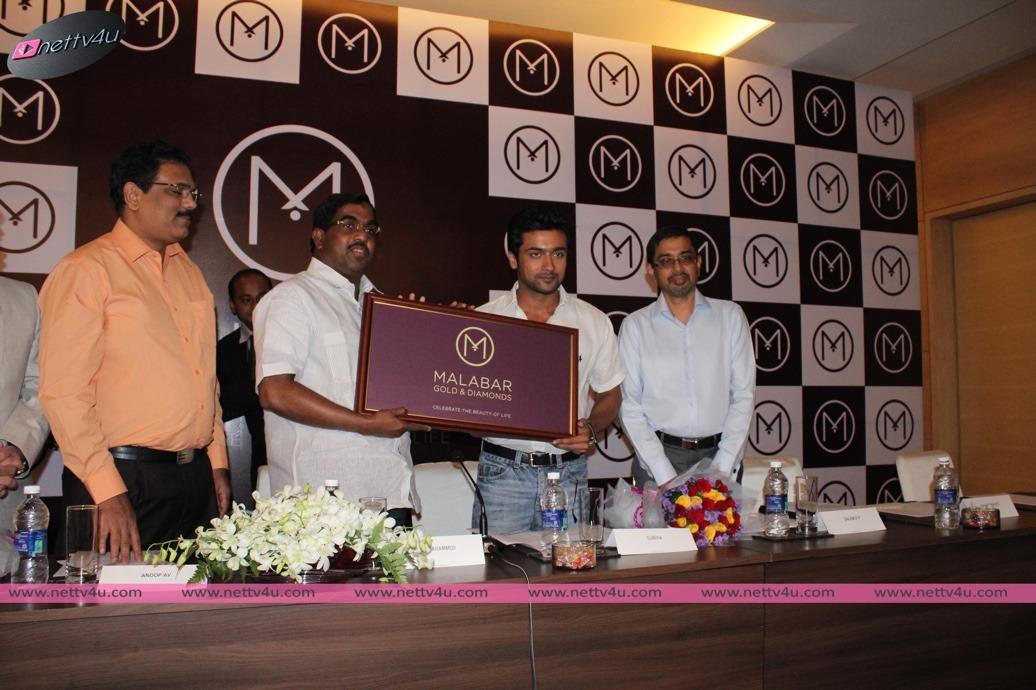 New Grand Ambassador For Malabar Gold Is Actor Surya