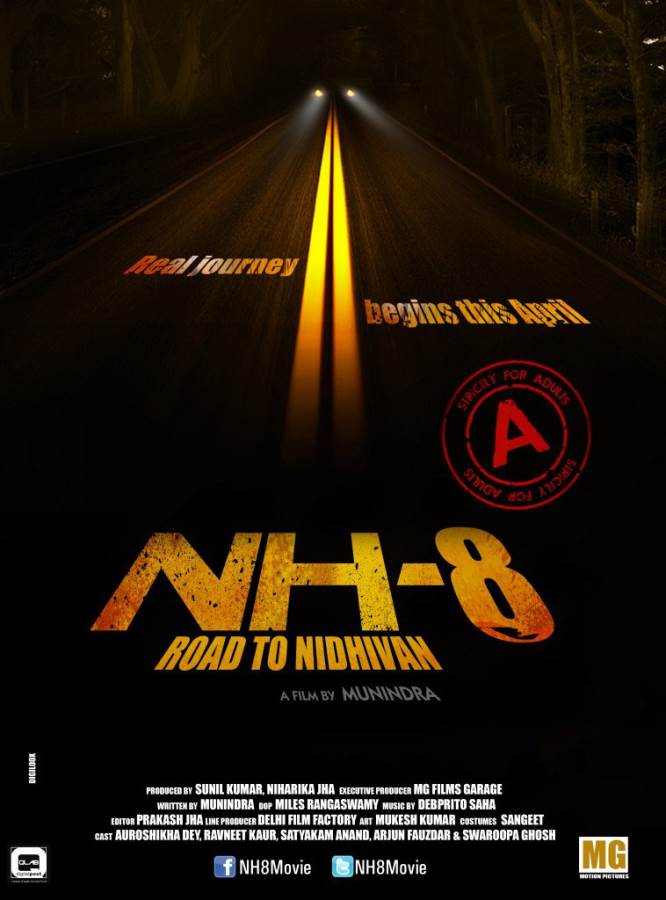 NH - 8 Road to Nidhivan Movie Review Hindi