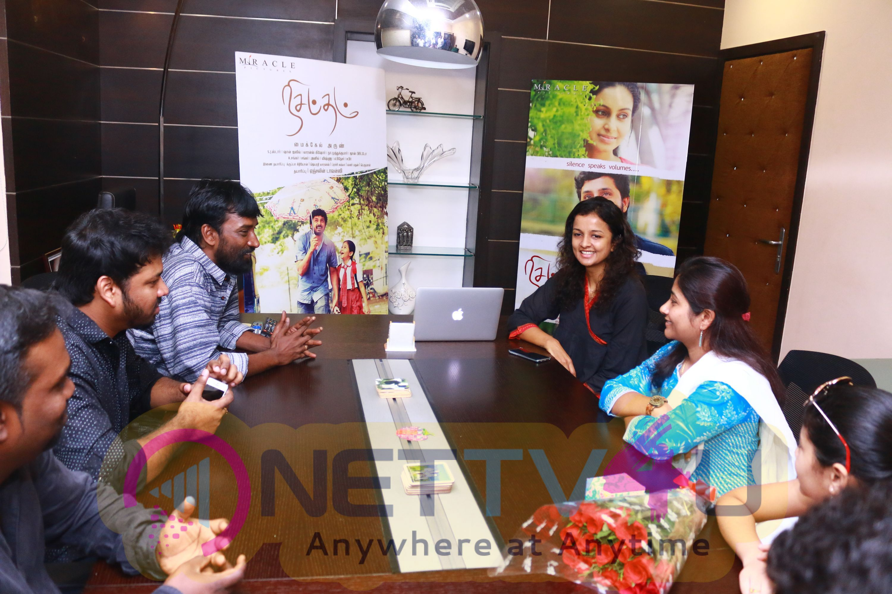 Nisabdham  Movie  Teaser And Launch Photos