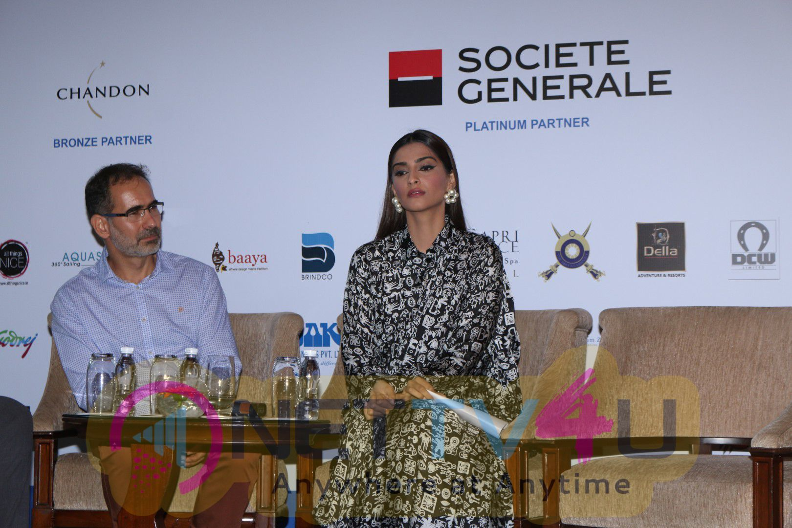 Sonam Kapoor At Fight Malnutrition In The Country In Association With Fight Hunger Foundation And ACF