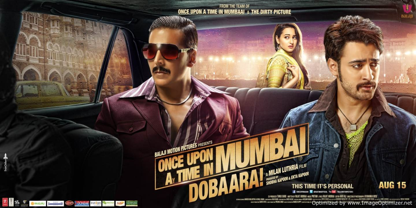 Once Upon A Time In Mumbai Dobaara!-Once too Many? Movie Review Hindi