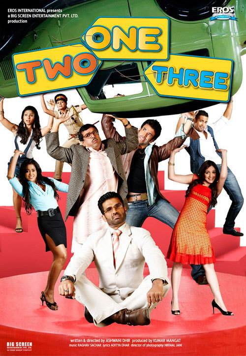 One Two Three Movie Review Hindi