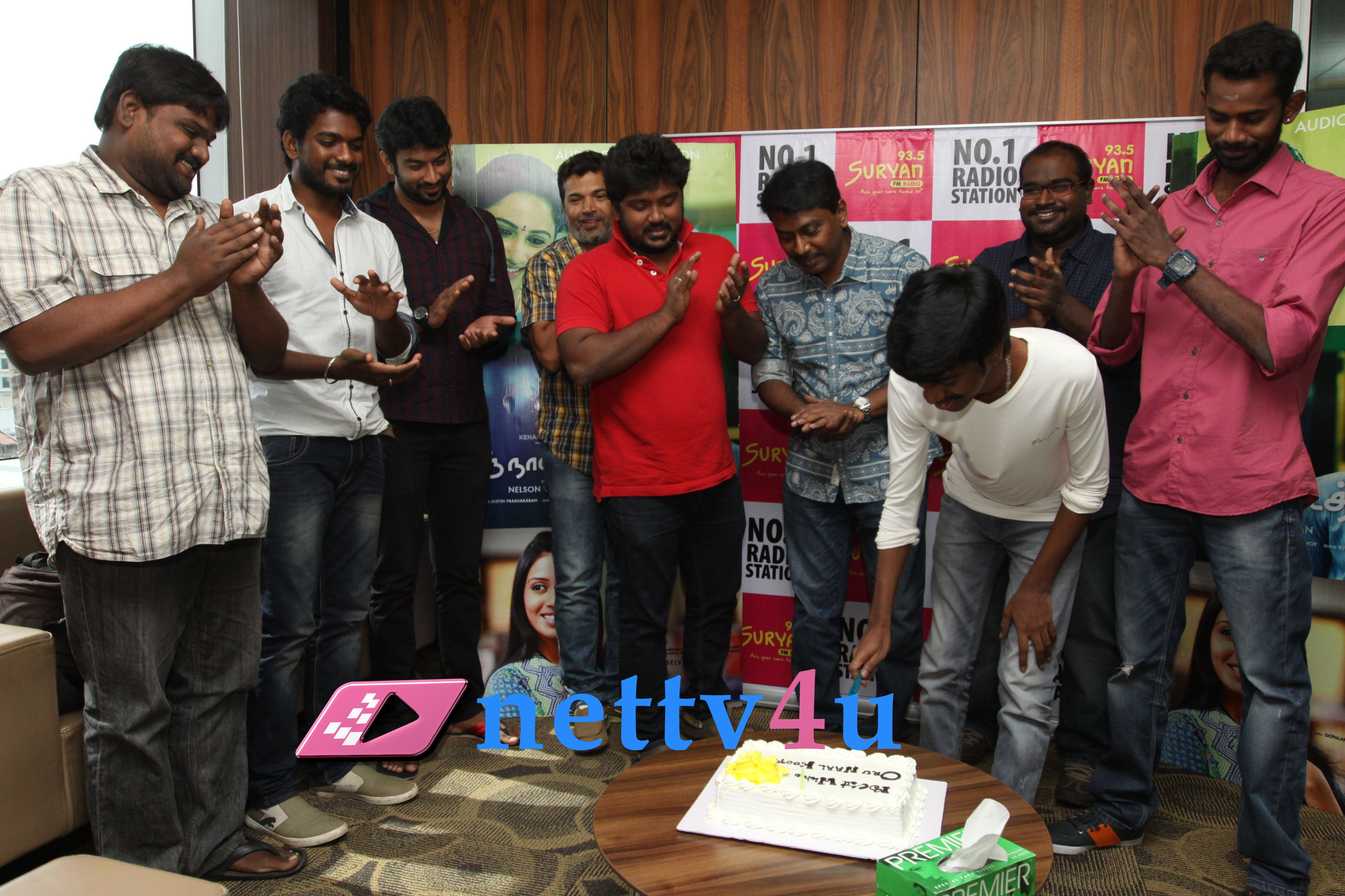 oru naal koothu movie single track launch stills 1