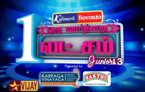 Oru Varthai Oru Latcham Juniors Season 3
