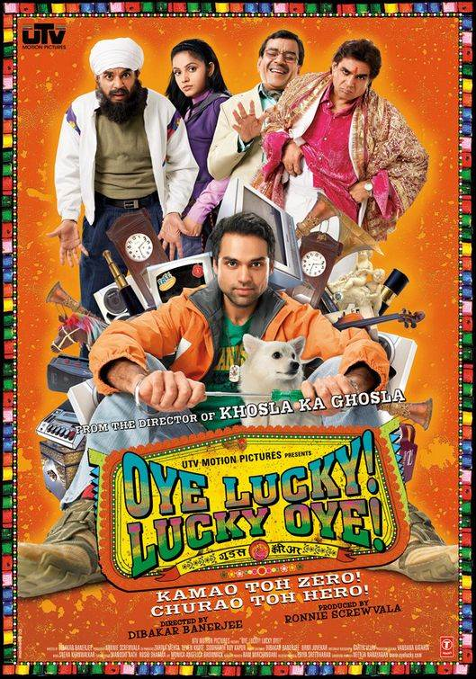 Oye Lucky! Lucky Oye! Movie Review Hindi