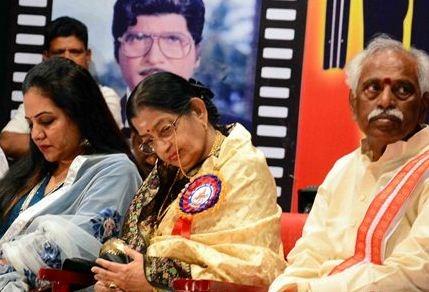 P. Susheela Is Honored With Swarna Kankanam Awa..