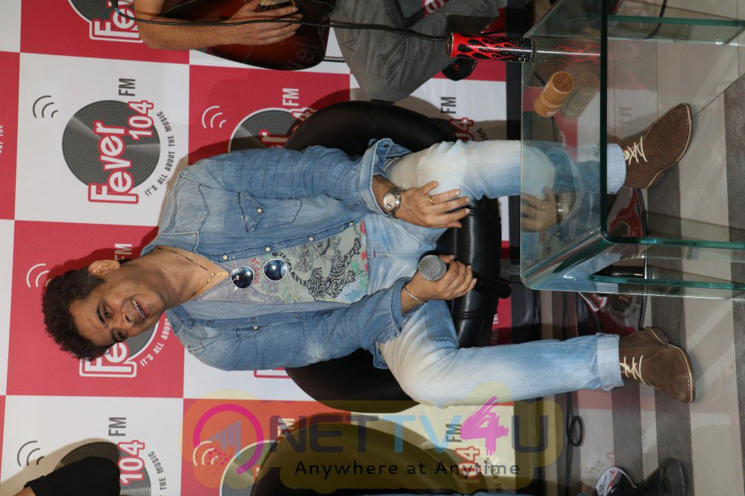 Palash Sen Music Band Europhia Performed At 104 Fever Fm For His New Song And Album Launch Photos