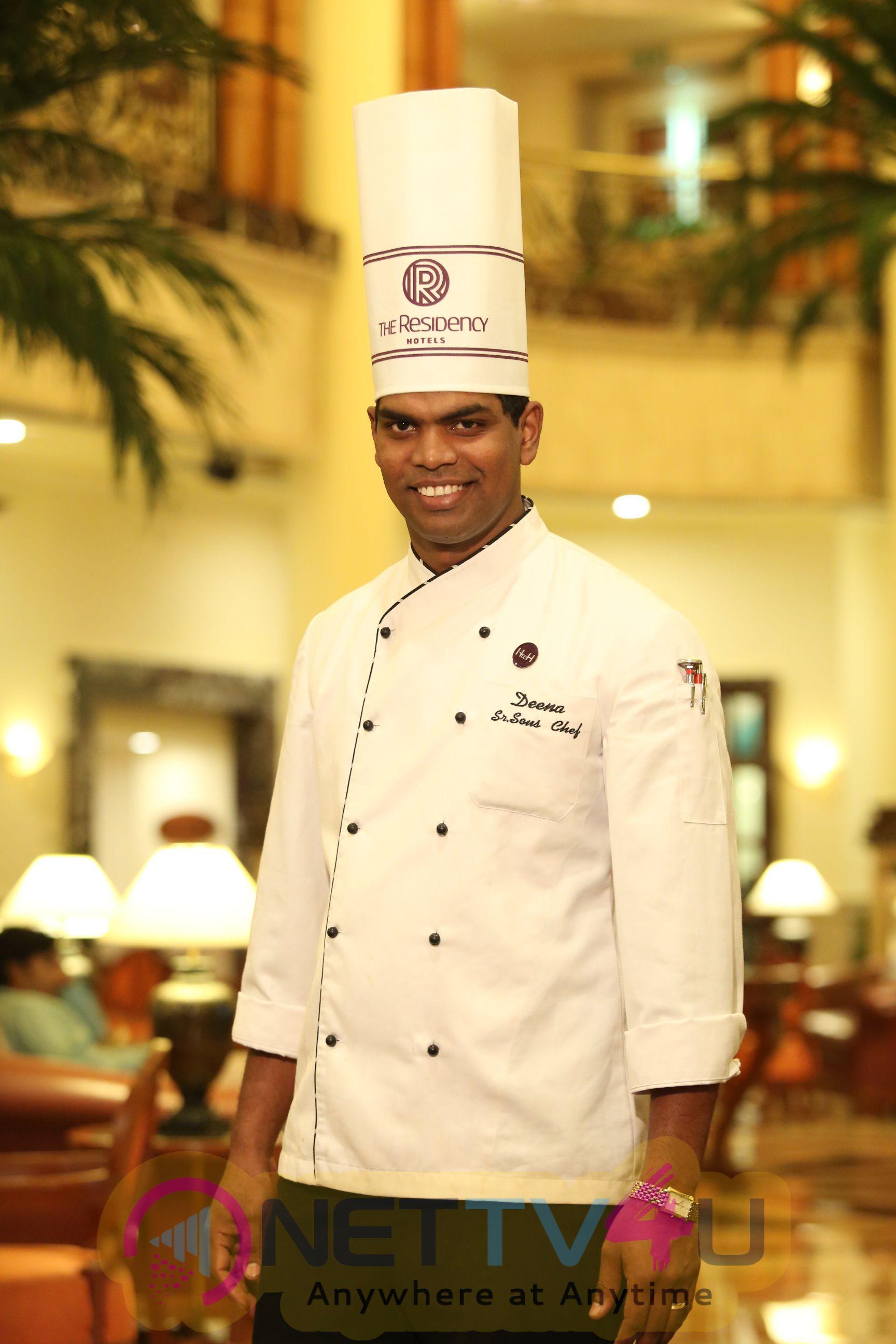 Parthiban And Chef Damu Launch Chef Deena Dayalan's New Menu At Southern Aromas